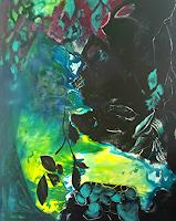 Andrea-Huber-Miscellaneous-Landscapes-Plants-Trees-Contemporary-Art-Neo-Expressionism