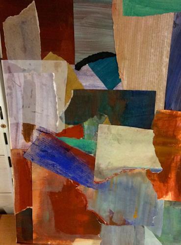 Anita Karolina Martinoli, Silent afternoon 2, Emotions, Miscellaneous, Contemporary Art