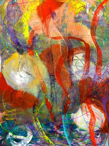 Anita Karolina Martinoli, ohne Titel, Abstract art, Contemporary Art, Abstract Expressionism