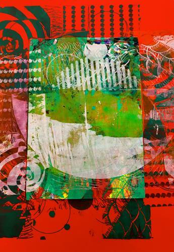 Anita Karolina Martinoli, Corona Experiment 1, Abstract art, Abstract Art