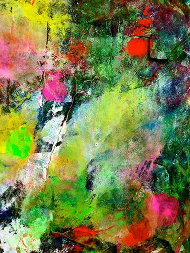 Anita Karolina Martinoli, ohne Titel, Abstract art, Action Painting, Abstract Expressionism