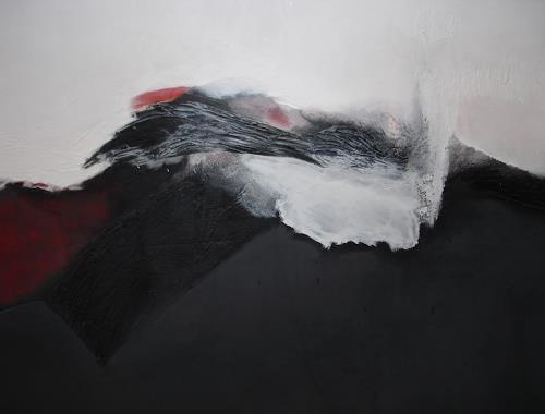 Christel Bersch, Wellen, Abstract art, Fantasy, Abstract Expressionism