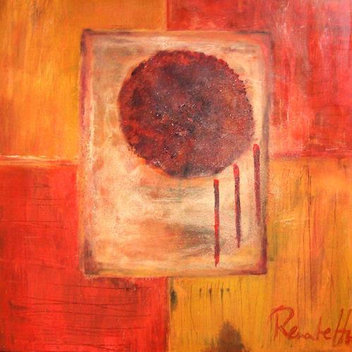 """Renate Horn, Ich bin vergnügt in meinem Glücke..."""" ( frei nach J.S. Bach ), Abstract art, Emotions: Joy, Contemporary Art"""