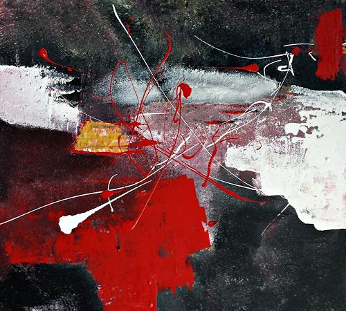 Renate Horn, Miteinander, Situations, Fantasy, Contemporary Art, Abstract Expressionism