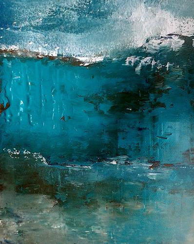 Renate Horn, N/T, Landscapes: Sea/Ocean, Abstract art, Contemporary Art