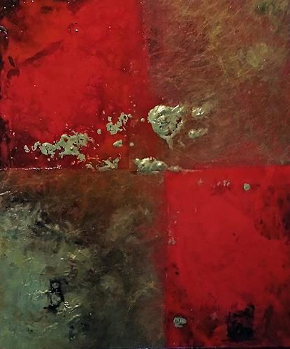 Renate Horn, Festlich, Abstract art, Fantasy, Contemporary Art, Expressionism