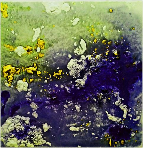 Renate Horn, Frühlingserwachen, Decorative Art, Movement, Contemporary Art, Expressionism
