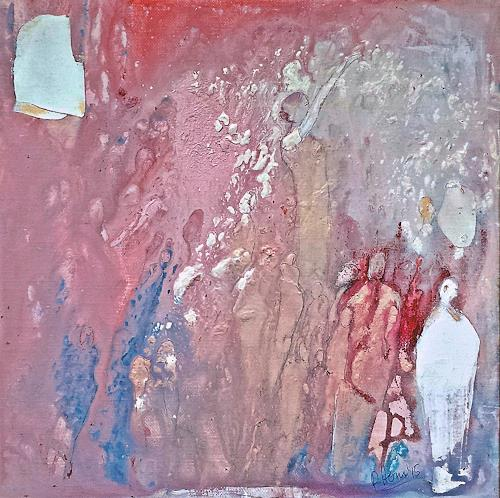 Renate Horn, N/T, Miscellaneous People, Parties/Celebrations, Contemporary Art, Abstract Expressionism