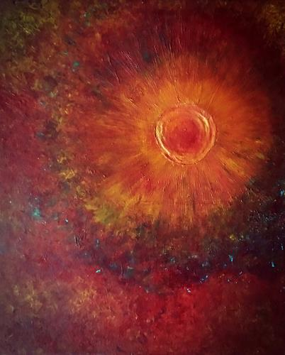 Renate Horn, Supernova, Outer space, Fantasy, Contemporary Art