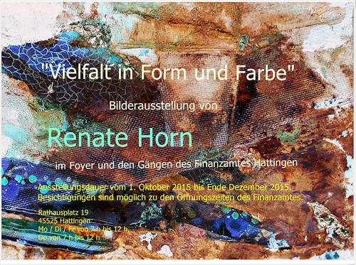 Renate Horn, Einladung zur Ausstellung!, Miscellaneous, Miscellaneous, Contemporary Art