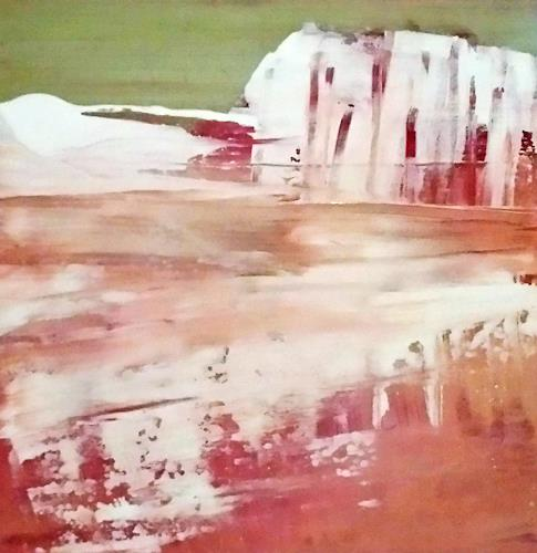 Renate Horn, Winter, Landscapes: Winter, Miscellaneous Interiors, Contemporary Art, Abstract Expressionism