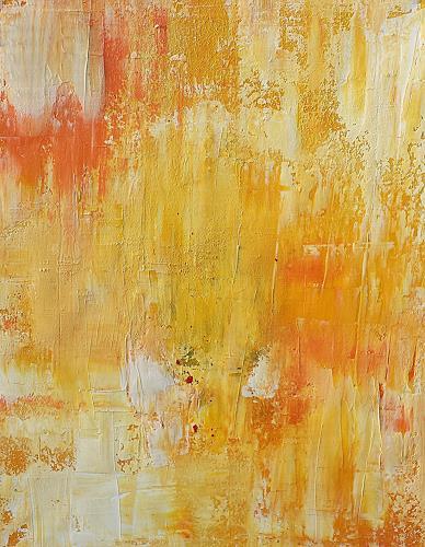 Renate Horn, Sun is up, Abstract art, Emotions: Joy, Contemporary Art