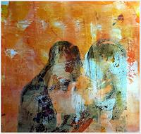 Renate-Horn-Miscellaneous-People-Emotions-Aggression-Contemporary-Art-Contemporary-Art