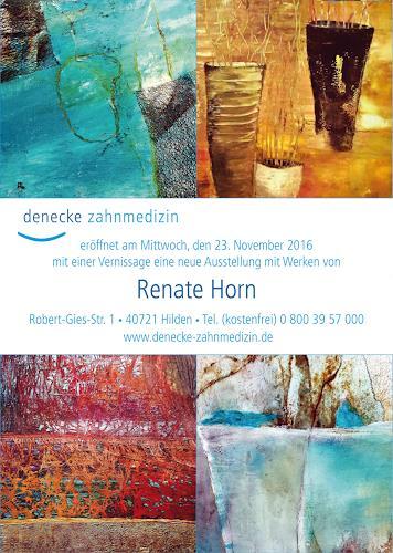 Renate Horn, Einladung zur Vernissage!, Decorative Art