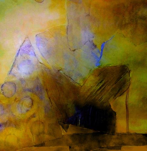 Renate Horn, Lullaby, Fantasy, Poetry, Contemporary Art, Abstract Expressionism