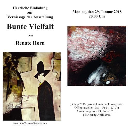 Renate Horn, Einladung zur Vernissage, Miscellaneous, Contemporary Art