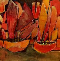 Renate-Horn-Landscapes-Sea-Ocean-Romantic-motifs-Sunset-Contemporary-Art-Contemporary-Art