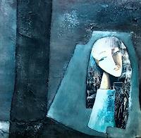Renate-Horn-People-Women-Abstract-art-Contemporary-Art-Contemporary-Art