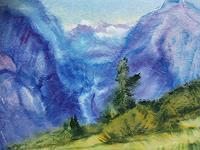 Reiner-Dr.-med.-Jesse-Landscapes-Mountains-Modern-Age-Impressionism