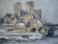 Reiner-Dr.-med.-Jesse-Landscapes-Winter-Modern-Age-Impressionism