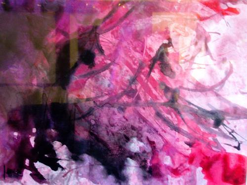 Reiner Dr. med. Jesse, Tepees of the Oglalas, Abstract art, Non-Objectivism [Informel]