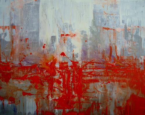 Reiner Dr. med. Jesse, Ein Regentag in Harlem, Abstract art, Non-Objectivism [Informel], Abstract Expressionism