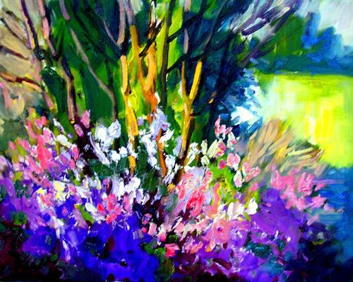Reiner Dr. med. Jesse, Aus meinem Garten - Azaleen, Plants: Flowers, Impressionism