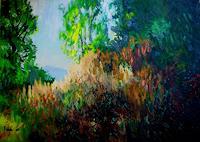 Reiner-Dr.-med.-Jesse-Landscapes-Autumn-Modern-Age-Impressionism