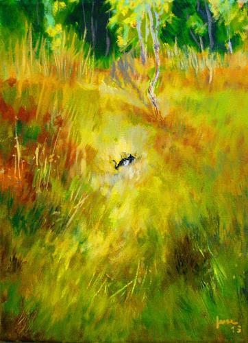 Reiner Dr. med. Jesse, Das Kätzchen, Landscapes: Summer, Impressionism