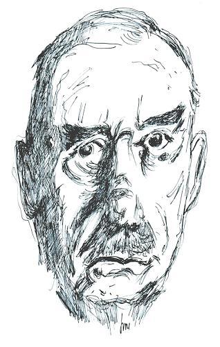 Reiner Dr. med. Jesse, Der große Zampano - Thomas Mann, People, Naturalism