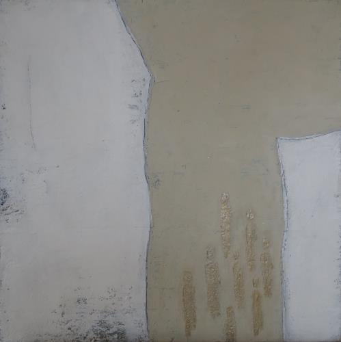 Christa Wetter, Durchbruch, Abstract art, People: Group, Non-Objectivism [Informel]