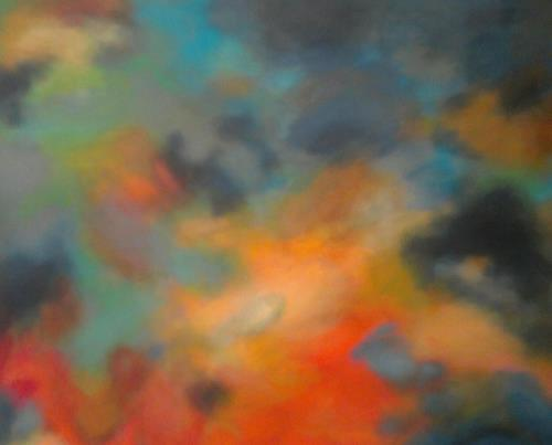 anne samson, N/T, Abstract art, Nature: Air, Contemporary Art