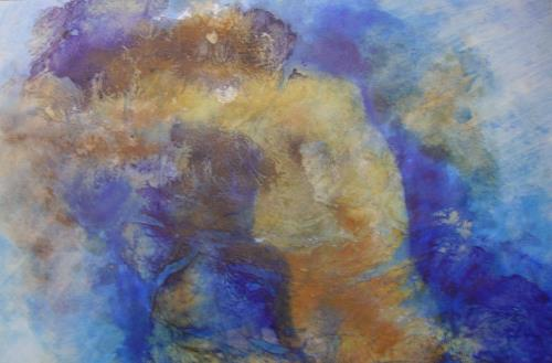 Helga Matisovits, Verzweifelt, Nude/Erotic motifs, Emotions: Grief