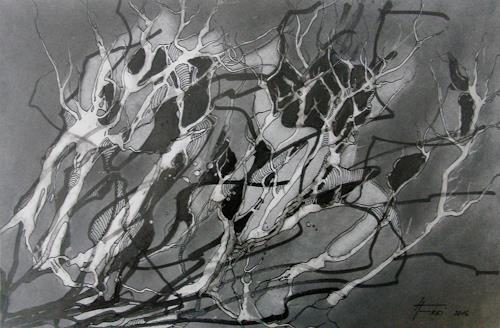 Helga Matisovits, Verfangen, Emotions, Abstract art
