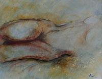 Helga-MATISOVITS-People-Erotic-motifs-Female-nudes-Modern-Age-Abstract-Art