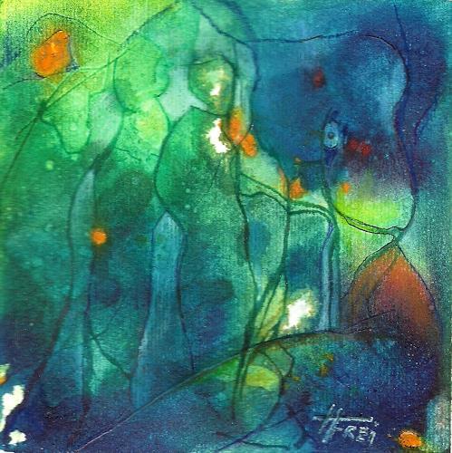 Helga Matisovits, Auf den Arm genommen, Abstract art, Movement, Abstract Art