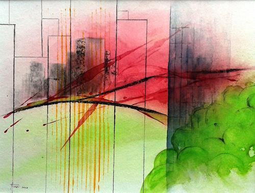 Helga Matisovits, Landflucht, Interiors: Cities, Nature, Realism, Expressionism