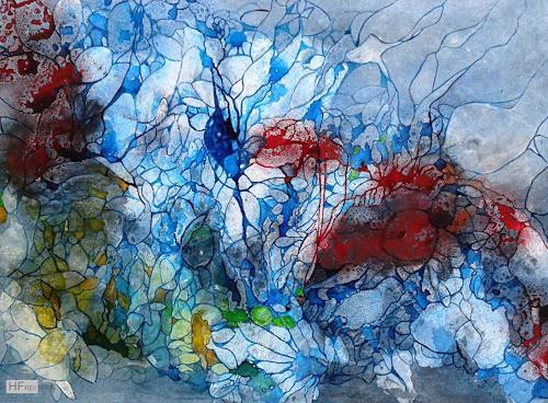 Helga Matisovits, Strömungen, Nature: Water, Animals: Water, Abstract Art, Expressionism
