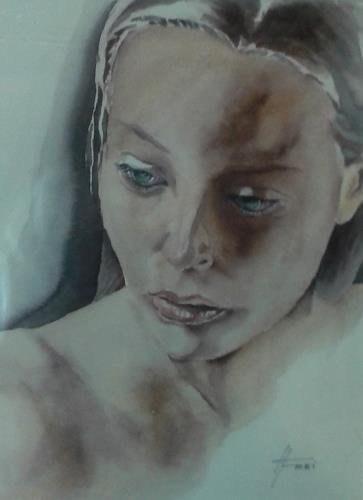 Helga Matisovits, Emotionen III, People: Women, People: Portraits, Abstract Art, Expressionism