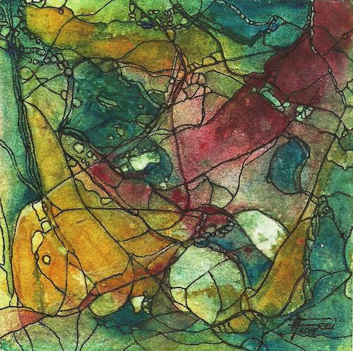 Helga Matisovits, YOUR CHOISE, Symbol, Abstract art, Abstract Art