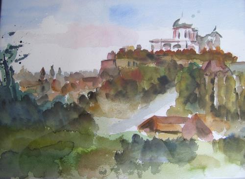Sabine Brandenburg, Esztergom, Buildings: Churches, Interiors: Cities, Land-Art, Expressionism