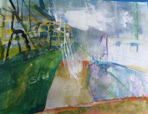Sabine Brandenburg, Boote Hafen Sassnitz auf Rügen, Nature: Water, Landscapes: Sea/Ocean