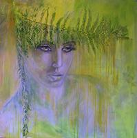 Sabine-Brandenburg-Nature-Wood-People-Women-Contemporary-Art-Contemporary-Art