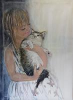 Sabine-Brandenburg-People-Children-Animals-Land-Contemporary-Art-Contemporary-Art