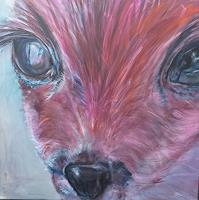 Sabine-Brandenburg-Animals-Land-Miscellaneous-Emotions-Contemporary-Art-Contemporary-Art