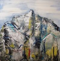 Sabine-Brandenburg-Landscapes-Mountains-Landscapes-Hills-Modern-Age-Expressionism-Abstract-Expressionism