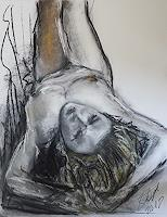 Sabine-Brandenburg-People-Women-Erotic-motifs-Female-nudes-Contemporary-Art-Contemporary-Art