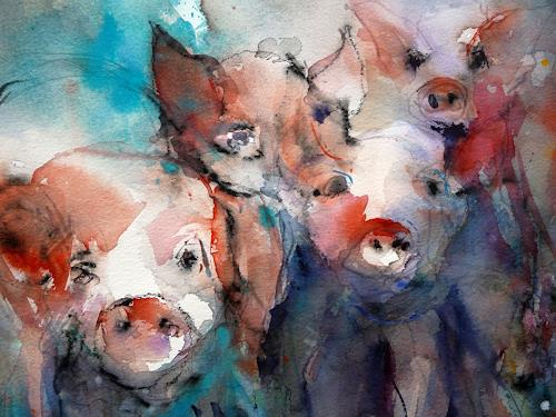 Gottfried Rogner, Prosit Neujahr, Miscellaneous Animals, Miscellaneous Circus, Expressionism