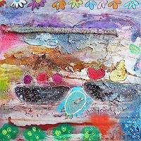 Franziska-Schmalzl-Still-life-Meal-Modern-Age-Primitive-Art-Naive-Art