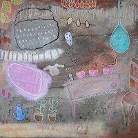 Franziska-Schmalzl-Still-life-Modern-Age-Primitive-Art-Naive-Art